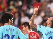 比赛集锦:穆尔西亚 0-3 巴塞罗那