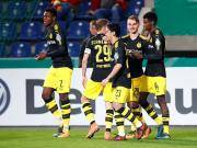 比赛集锦:马格德堡 0-5 多特蒙德