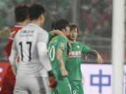 比赛集锦:北京中赫国安 1-0 重庆当代力帆