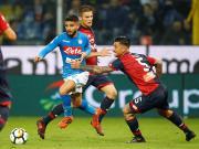 比赛集锦:热那亚 2-3 那不勒斯