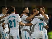 比赛集锦:富恩拉布雷达 0-2 皇家马德里
