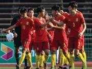 比赛集锦:中国U19 1-0 缅甸U19
