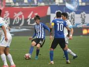 比赛集锦:石家庄永昌 1-1 大连超越