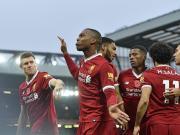 比赛集锦:利物浦 3-0 哈德斯菲尔德