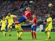 比赛集锦:马德里竞技 1-1 比利亚雷亚尔