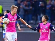 比赛集锦:柏林赫塔 2-1 汉堡