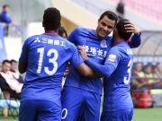 比赛集锦:上海绿地申花 5-1 延边富德
