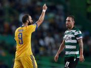 比赛集锦:葡萄牙体育 1-1 尤文图斯