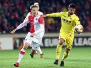 比赛集锦:布拉格斯拉维亚 0-2 比利亚雷亚尔
