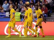 比赛集锦:拉科鲁尼亚 0-1 马德里竞技