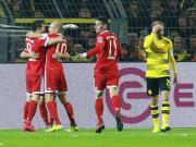 比赛集锦:多特蒙德 1-3 拜仁慕尼黑