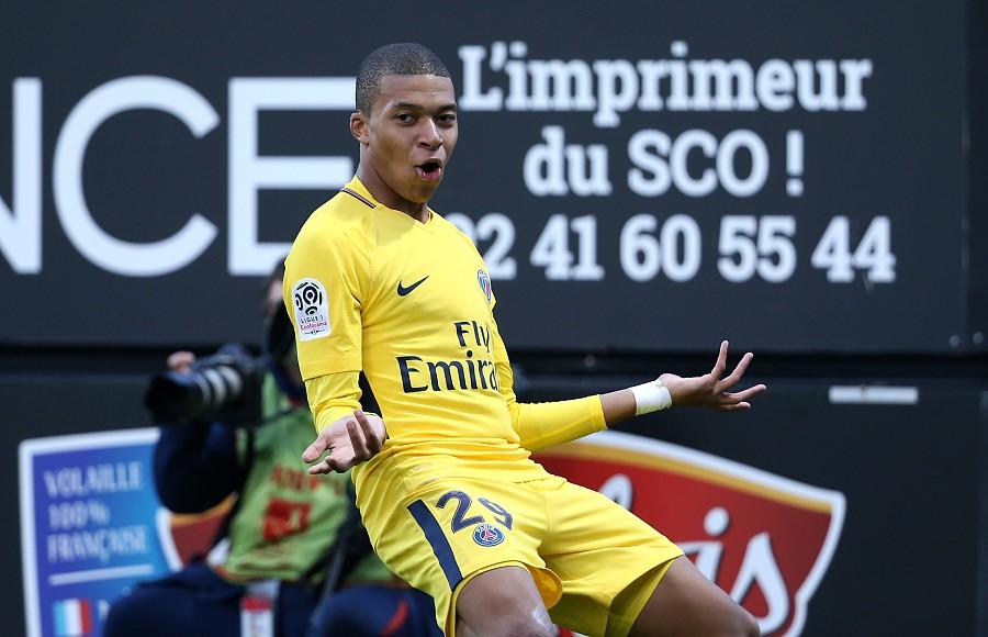 20个联赛进球,姆巴佩又破纪录 - 巴黎圣日耳曼