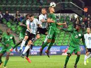 比赛集锦:阿根廷 2-4 尼日利亚