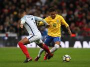 比赛集锦:英格兰 0-0 巴西