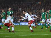 比赛集锦:爱尔兰 1-5 丹麦
