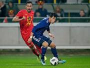 比赛集锦:比利时 1-0 日本
