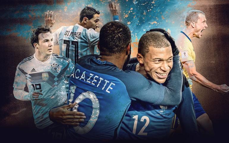 德媒排世界杯32强实力榜:德国最强,法国巴西分