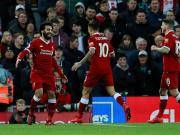 比赛集锦:利物浦 3-0 南安普顿