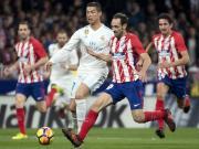 比赛集锦:马德里竞技 0-0 皇家马德里