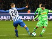比赛集锦:柏林赫塔 2-4 门兴格拉德巴赫