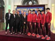 战澳大利亚女足,中国女足姑娘与当地政府、足协官员会面交流