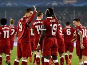 半场战报:塞维利亚0-3利物浦