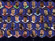 欧足联2017年最佳阵容50人候选名单:梅罗领衔,皇马11人入选