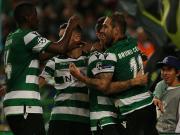 葡萄牙体育3-1奥林匹亚科斯保留出线希望,多斯特梅开二度