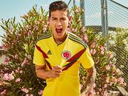 众志成城!哥伦比亚国家队2018世界杯主场球衣!