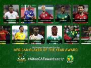 官方:非洲足球先生11人名单出炉,马内、萨拉赫入选