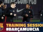 巴萨迎来国王杯前最后一练,登贝莱恢复训练健步如飞即将归来