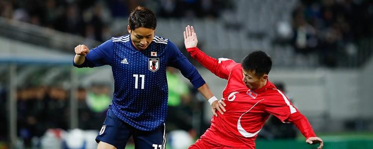 日本1-0绝杀朝鲜井手口阳