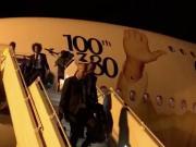 皇马球员下飞机抵达阿布扎比,备战世俱杯