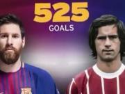 追平同一联赛进球数,梅西这些进球和盖德-穆勒神同步