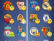 懂球帝海报:欧冠16强抽签结束,此刻各队的表情都是怎样的?