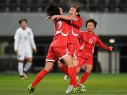 大喜娱乐官网集锦:朝鲜女足 1-0 韩国女足