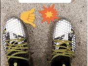 闪瞎眼,格列兹曼新战靴亮相