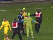 搞笑,忍者神龟闯进巴黎比赛
