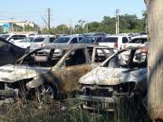 格雷米奥球迷边看世俱杯决赛边烧烤,误烧14辆车
