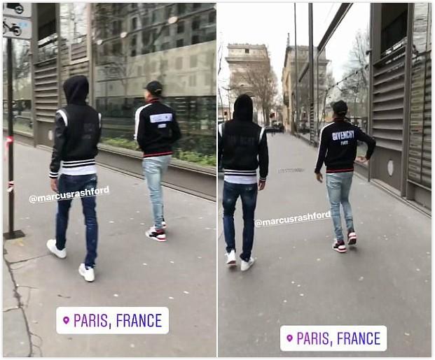 放松,林加德和拉师傅同游巴黎