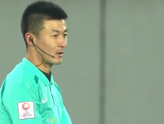 日本U23对阵巴勒斯坦U23,中国四名裁判集体亮相