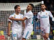 比赛集锦:皇家马德里 2-2 努曼西亚