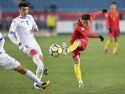 比赛集锦:U23国足 0-1 乌兹别克斯坦U23