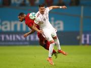 比赛集锦:勒沃库森 1-3 拜仁慕尼黑