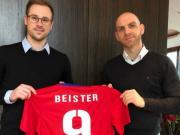 官方:拜斯特加盟低级别球队