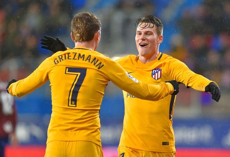 马竞客场1-0埃瓦尔获各项赛事4连胜,格子助加梅罗打入制胜球