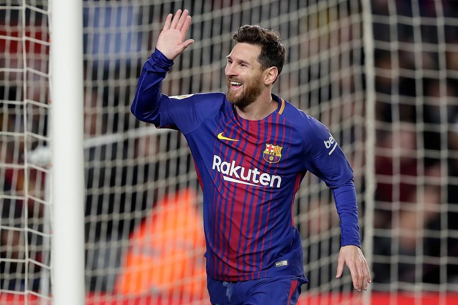 一球之差,梅西今晚有望再创进球纪录