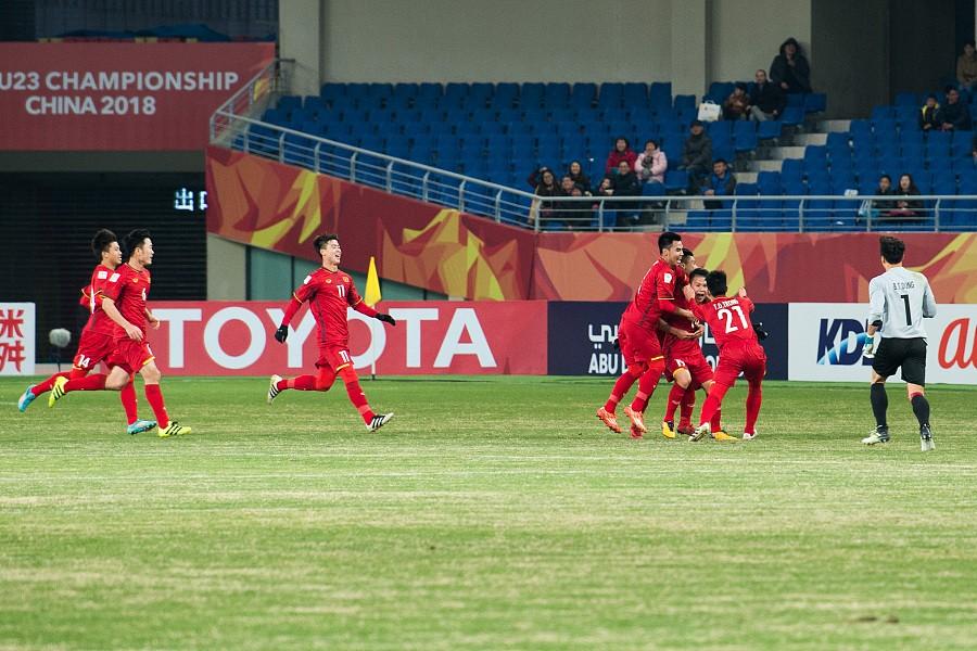 U23亚洲杯综述:越南爆冷1-0澳大利亚,韩国闷平叙利亚