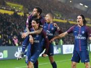 比赛集锦:南特 0-1 巴黎圣日耳曼