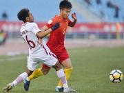 比赛集锦:中国U23 1-2 卡塔尔U23